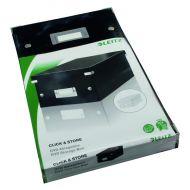 Leitz Click Store DVD Storage Box Black