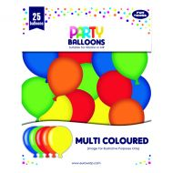 Party Balloons Multicolour Pack 6