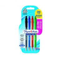 Papermate Flexgrp Gel Pens Astd Pk4