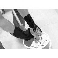 Shield Industrial Rubber Gloves Blk SZ9