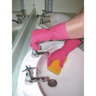 Shield Household Pink Rubber Gloves GR03