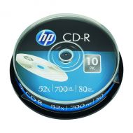 HP CD-R 52X 700MB Spindle Pk10