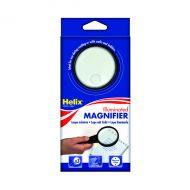 Helix Illuminated Magnifying Glass 75mm