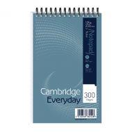 Cambridge S Hand Notebook 125x200mm Pk5