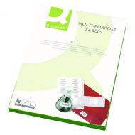 Q-Connect Multipurpose Labels Pk2400