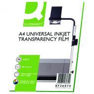 Q-Connect OHP Inkjet Film Universal Pk50