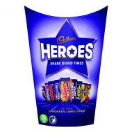 Cadburys Heroes Tub 185g Each