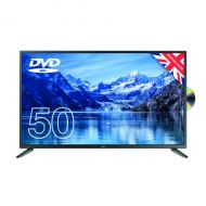 Cello 50in Free HD LED TV DVD 1080p