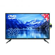Cello 32in Free HD LED TV DVD 1080i