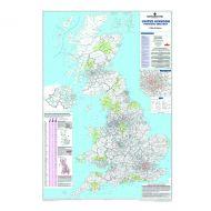 Map Marketing UK Postcode Areas Map