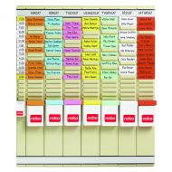 Nobo 7 T-Card Panel Planning Kit 2911080