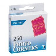 Photo Album Corners White Pk250 PC250