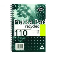 Pukka Recycled Wirebound Pad A5 Pk3