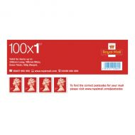 First Class Postage Stamps Book of 100