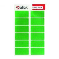 Blick Colour Label 25x50mm Green Pk320
