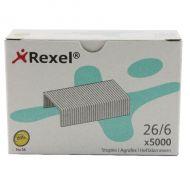Rexel No56 Staples Metal 6mm Pk5000