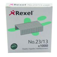 Rexel H/Duty Staples No23/13mm Pk1000