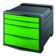 Rexel Choices Green Drawer Cabinet