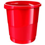 Rexel Choices Red Waste Bin