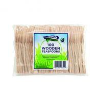 Caterpack Env Wooden Teaspoons P100
