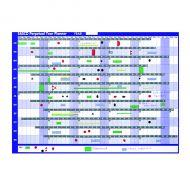 Sasco Magnetic Perpetual Year Planner