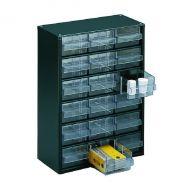 Dk.Grey Storage Cabinet 18 Drawer 324117