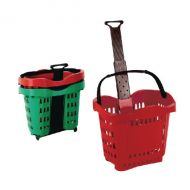 Giant Red Shop Basket Trolley SBY20753