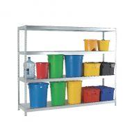 Orange/Zinc Galv 1800x600mm Extra Shelf