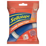 Sellotape Double Sided 25mm Tape Pk6