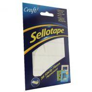 Sellotape 56 Sticky Perm 12x25mm Fixers