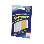 Sellotape Sticky Hook/Loop Strip 1445183
