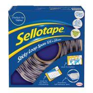 Sellotape Sticky Loop Spots Pk125