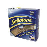 Sellotape Sticky Hook and Loop 6m Strip
