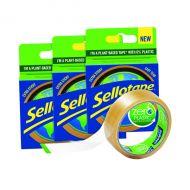 Sellotape Zero Plastic 24mmx30m 3 For 2