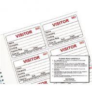 Identibadge Visitors Book Refill 100
