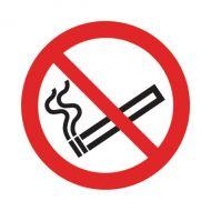 No Smoking Symbol 50x50mm Self-Adh Sign
