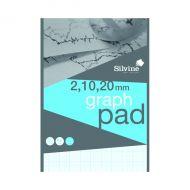 Silvine Graph Pad 2/10/20 50shts A4