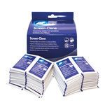 Screen Cleaning Duo Sachets of Wet and Dry Wipes [Pack 20x2]