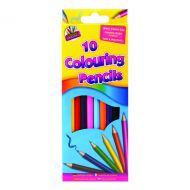 Artbox 10 Full Size Colour Pencils Pk12