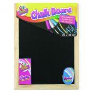 Chalk Board And Eraser Set Pk12