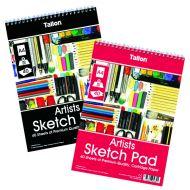 Tallon Artist Sketch Pad 40 Sheet A4 Pk6