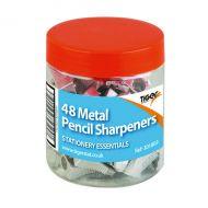 Metal Single Hole Pencil Sharpener Pk48