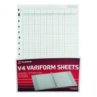 Variform V4 14 Column Cash Refill Pk75