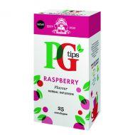 PG Tips Raspberry Envelope Tea Bag Pk25
