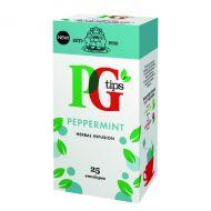 PG Tips Peppermint Envelope Tea Bag Pk25