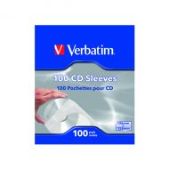 Verbatim CD/DVD Paper Sleeves Pk100