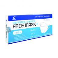 Disposable Ultra IIR Facemask Pk10