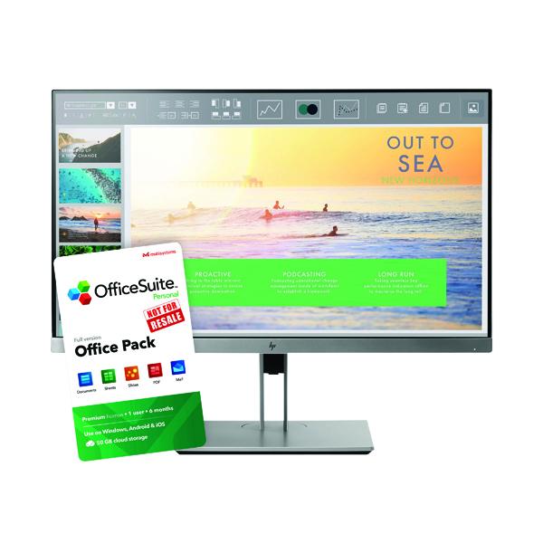 HP Elitedisplay E233 Monitor FOC OS
